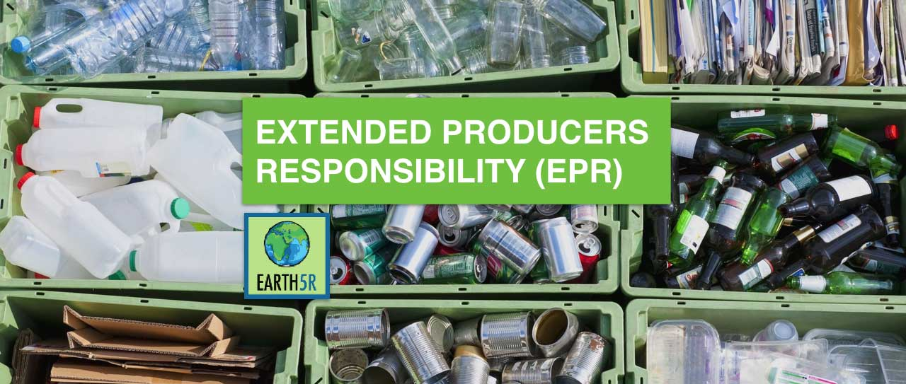 Extended Producers Responsibility EPR Mumbai Environmental Earth5R
