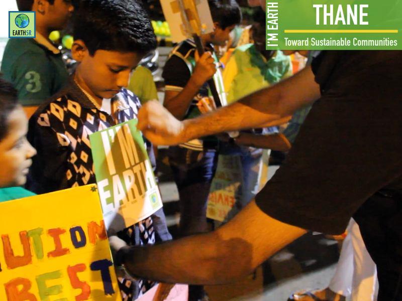 Awareness Campaign Vasai Virar Mumbai India Environmental NGO Earth5R