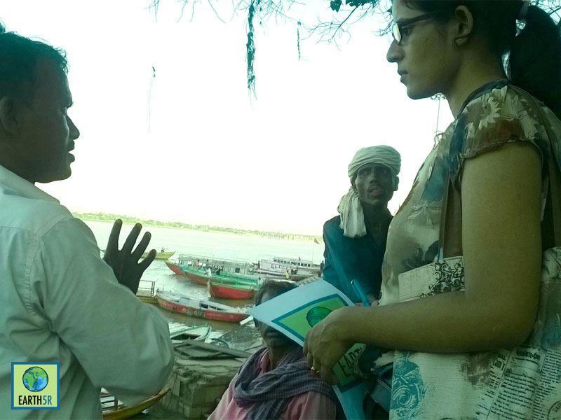 Awareness Recycling Ganga Varanasi Mumbai India Environmental NGO Earth5R