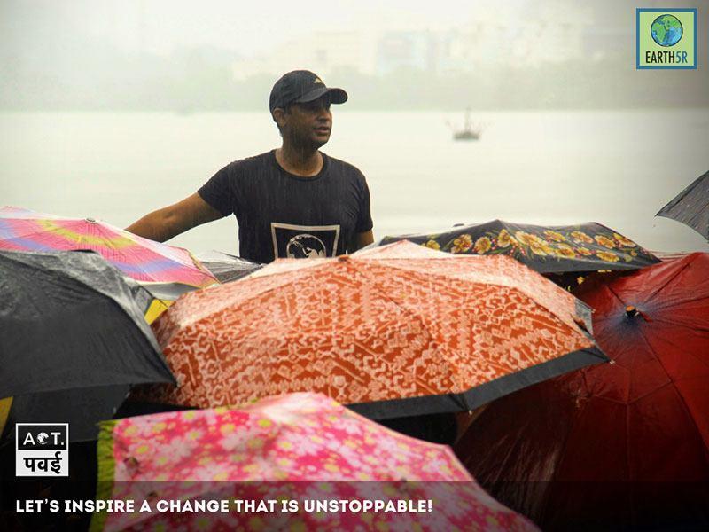 Awareness waste segregation Mumbai India Environmental Organisation Earth5R Saurabh Gupta
