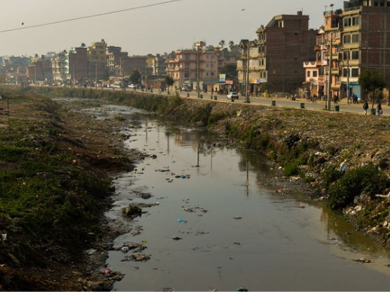 Bagmati River Kathmandu Pollution CSR  Mumbai India Environmental NGO Earth5R