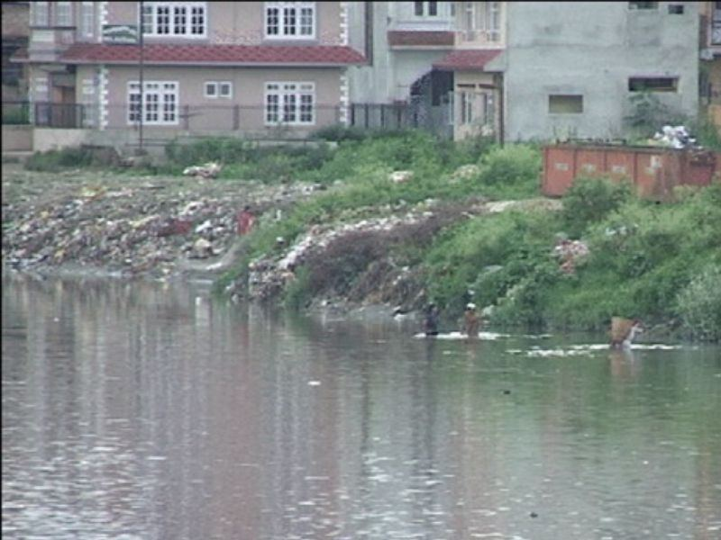 Bagmati River Kathmandu Recycle Pollution  Mumbai India Environmental NGO Earth5R