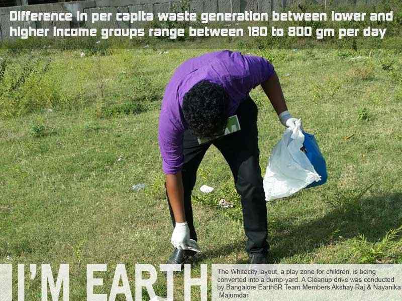 Bangalore Clean Up Drive Volunteer Mumbai India Environmental NGO Earth5R