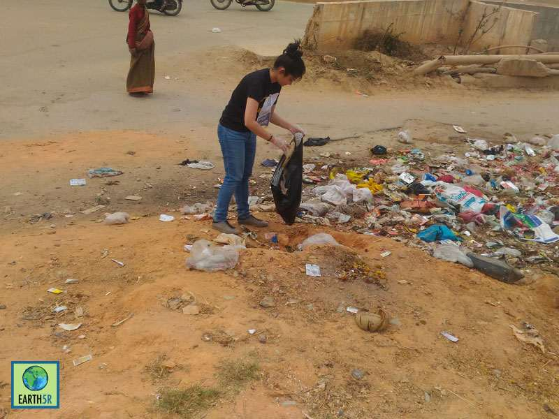 Bangalore Clean up Drive Mumbai India Environmental NGO Earth5R