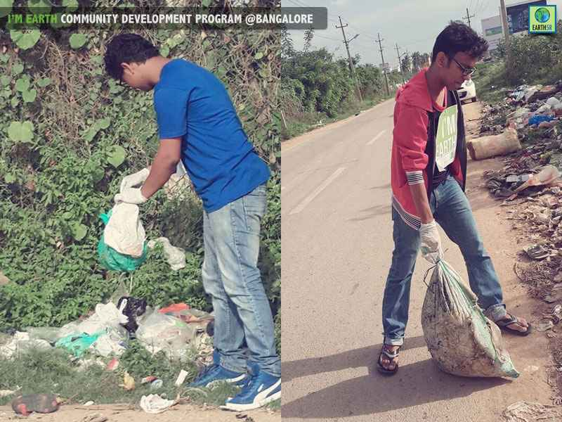 Bangalore Cleanup Drive Volunteer Mumbai India Environmental NGO Earth5R (2)