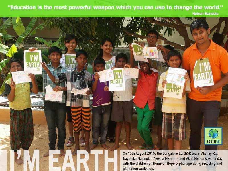 Bangalore Community Development Mumbai India Environmental NGO Earth5R