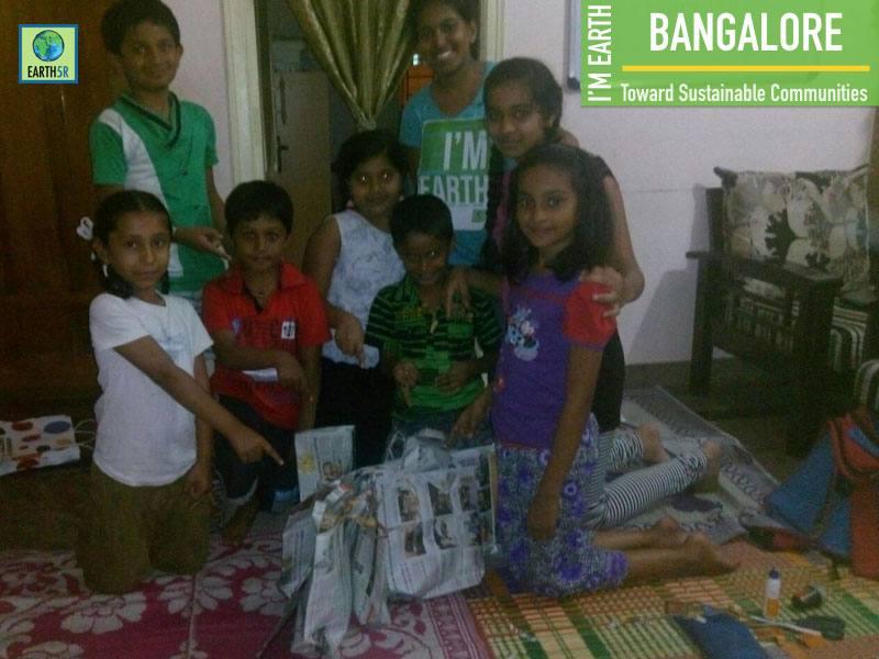 Bangalore Earth5R Waste Management Awareness Volunteer Mumbai India Environmental NGO