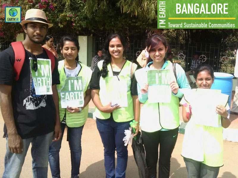 Bangalore Rain Water Harvesting Awareness Earth5R Mumbai India Environmental NGO