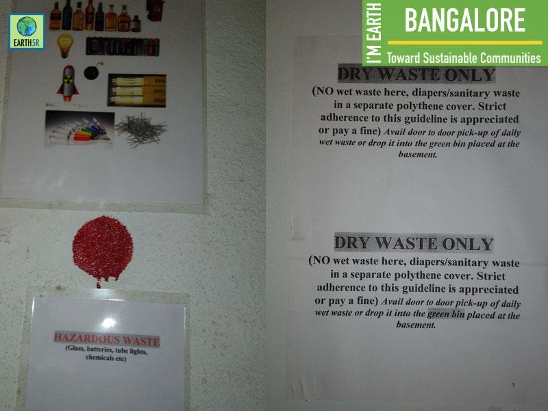 Bangalore Waste Segregation Dry Waste Building Mumbai India Environmental NGO Earth5R