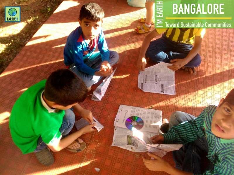 Bangalore Waste Upcycling Workshop Earth5R Mumbai India Environmental NGO