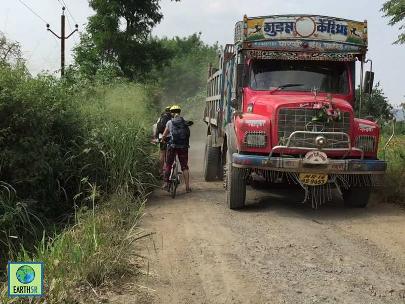 Bicycle Ride Community Development Mumbai India Environmental NGO Earth5R