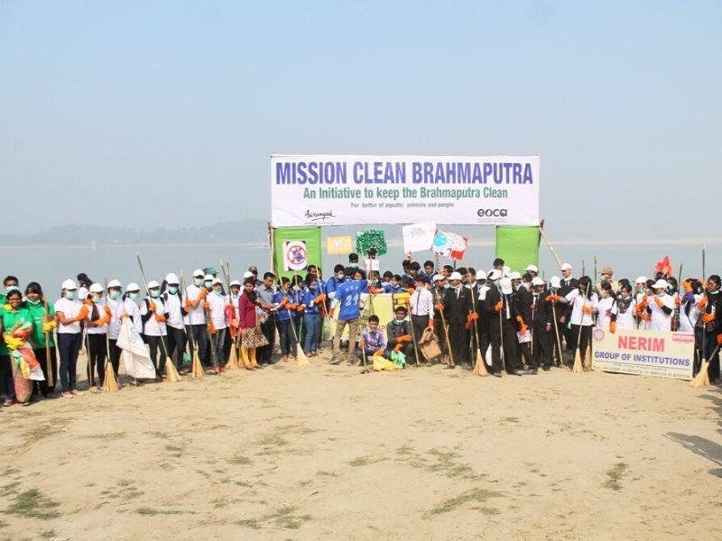 Brahmaputra Community Cleanup Mumbai India Environmental NGO Earth5R
