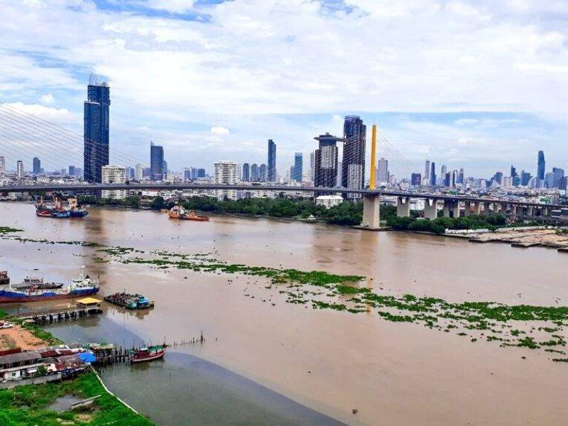 Chao Phraya Bangkok Circular Economy Algal bloom Mumbai India Environmental NGO Earth5R