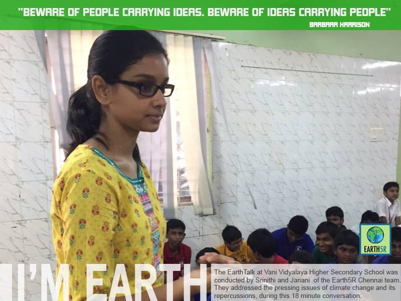 Chennai Sustainability Mumbai India Environmental NGO Earth5R