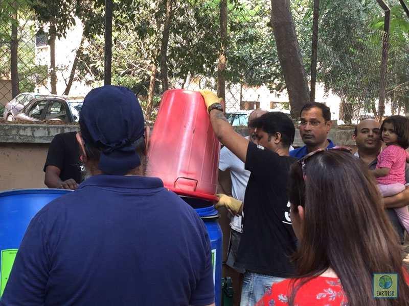 Citzens live demo training Mumbai India Environmental NGO Earth5R