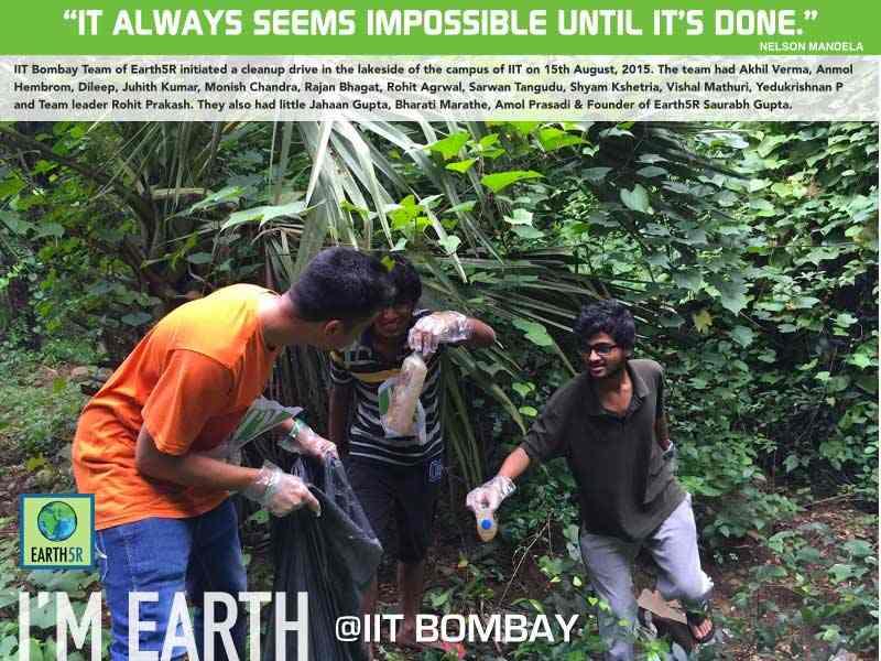 Clean Up Drive Mumbai India Environmental NGO Earth5R