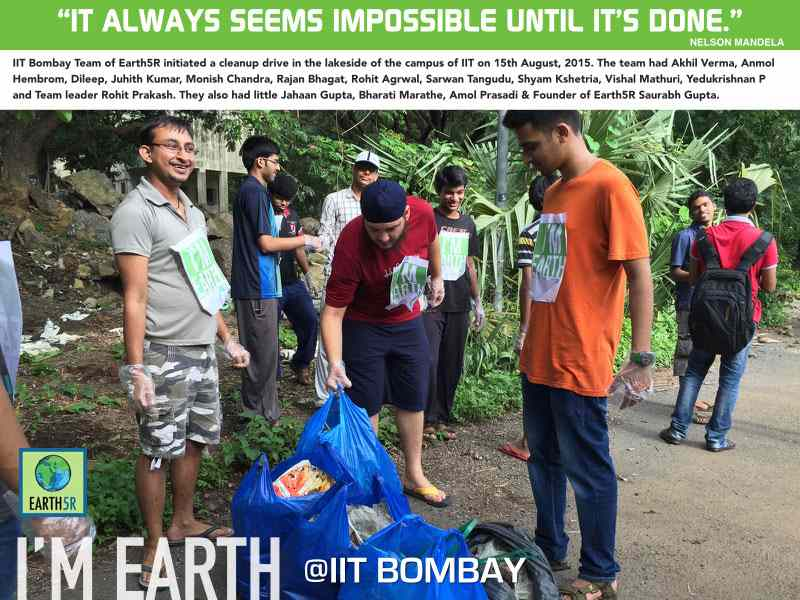 Clean Up Mumbai India Environmental NGO Earth5R