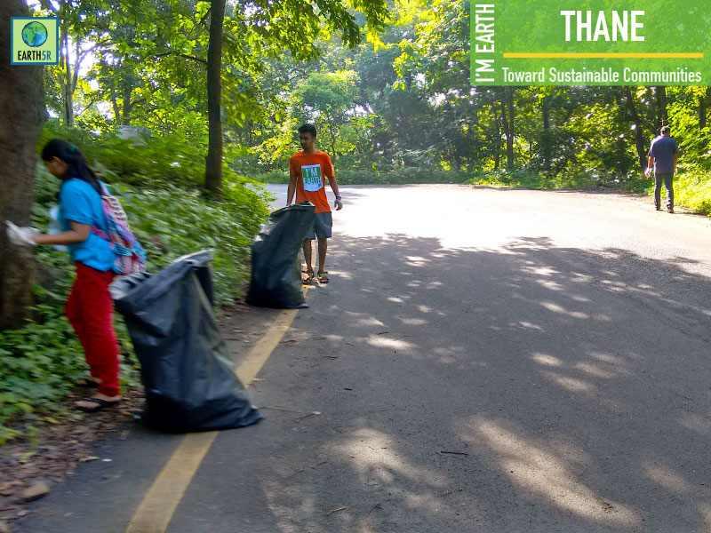 Clean Up Thane Mumbai India Environmental NGO Earth5R