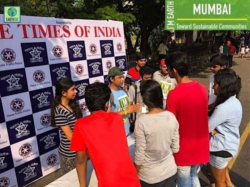 Cleanup Community Awareness Earth5R Mumbai India Environmental NGO