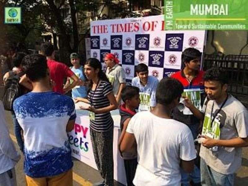 Cleanup Community Awareness Recycling Earth5R Mumbai India Environmental NGO
