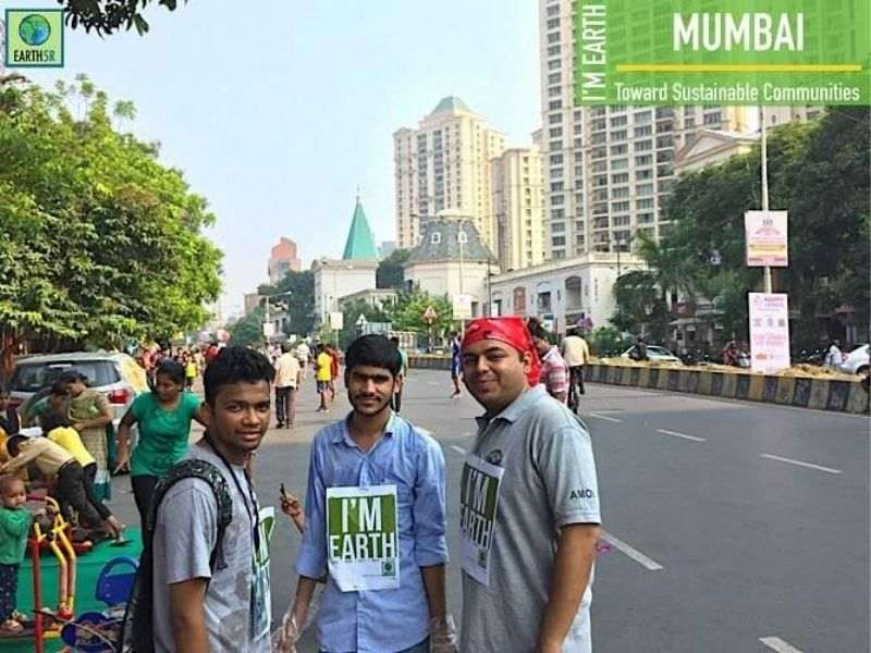 Cleanup Community Awareness Sustainability Earth5R Mumbai India Environmental NGO