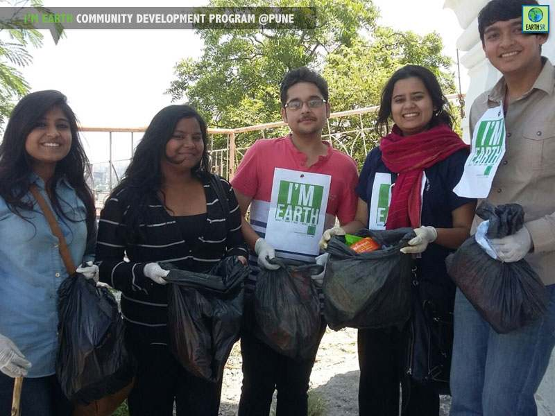 Cleanup Drive Pune Mumbai India Environmental NGO Earth5R