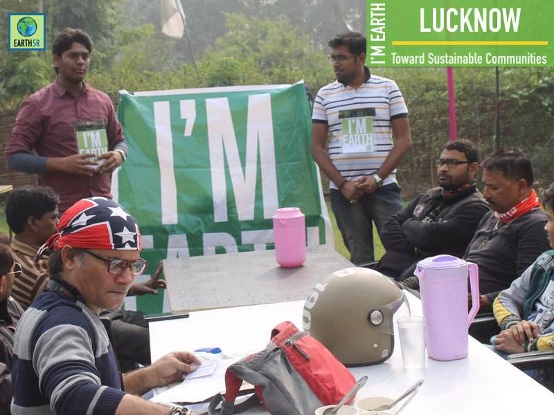 Climate Change Awareness Lucknow Bikers Mumbai India Environmental NGO Earth5R