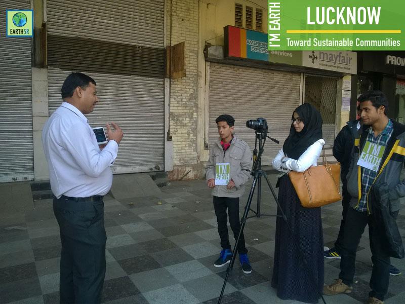 Community Awareness Lucknow Mumbai India Environmental NGO Earth5R