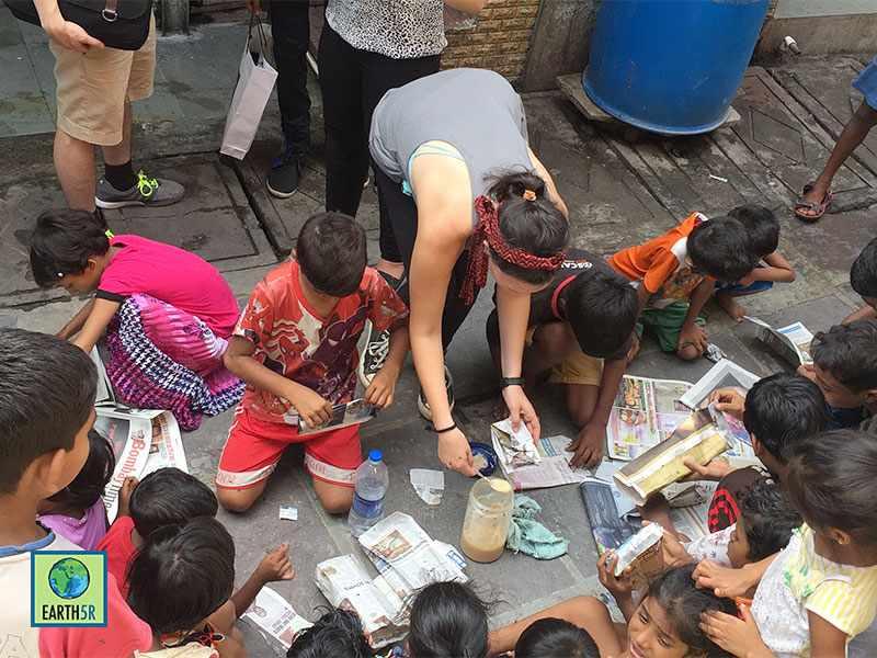 Community Awareness Volunteer Mumbai India Environmental NGO Earth5R