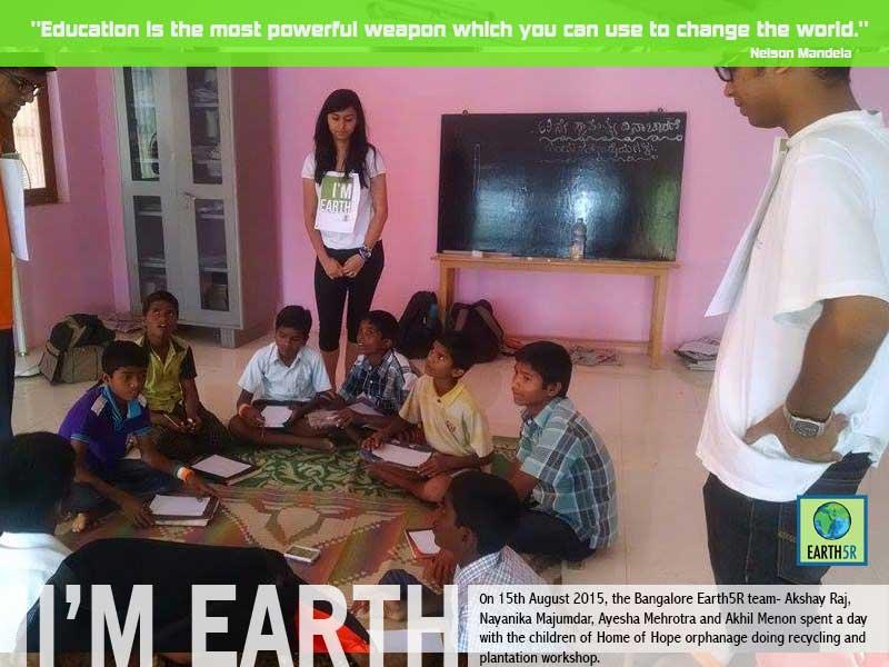 Community Awareness Workshop Bangalore Mumbai India Environmental NGO Earth5R