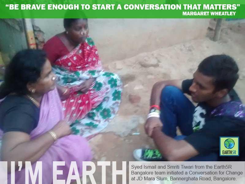 Community Bangalore Awareness Mumbai India Environmental NGO Earth5R