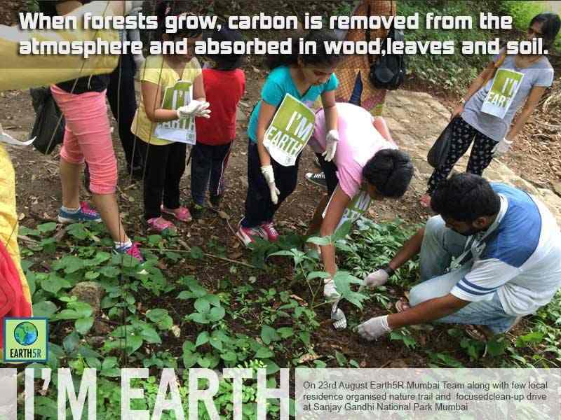 Community Clean up Mumbai India Environmental NGO Earth5R