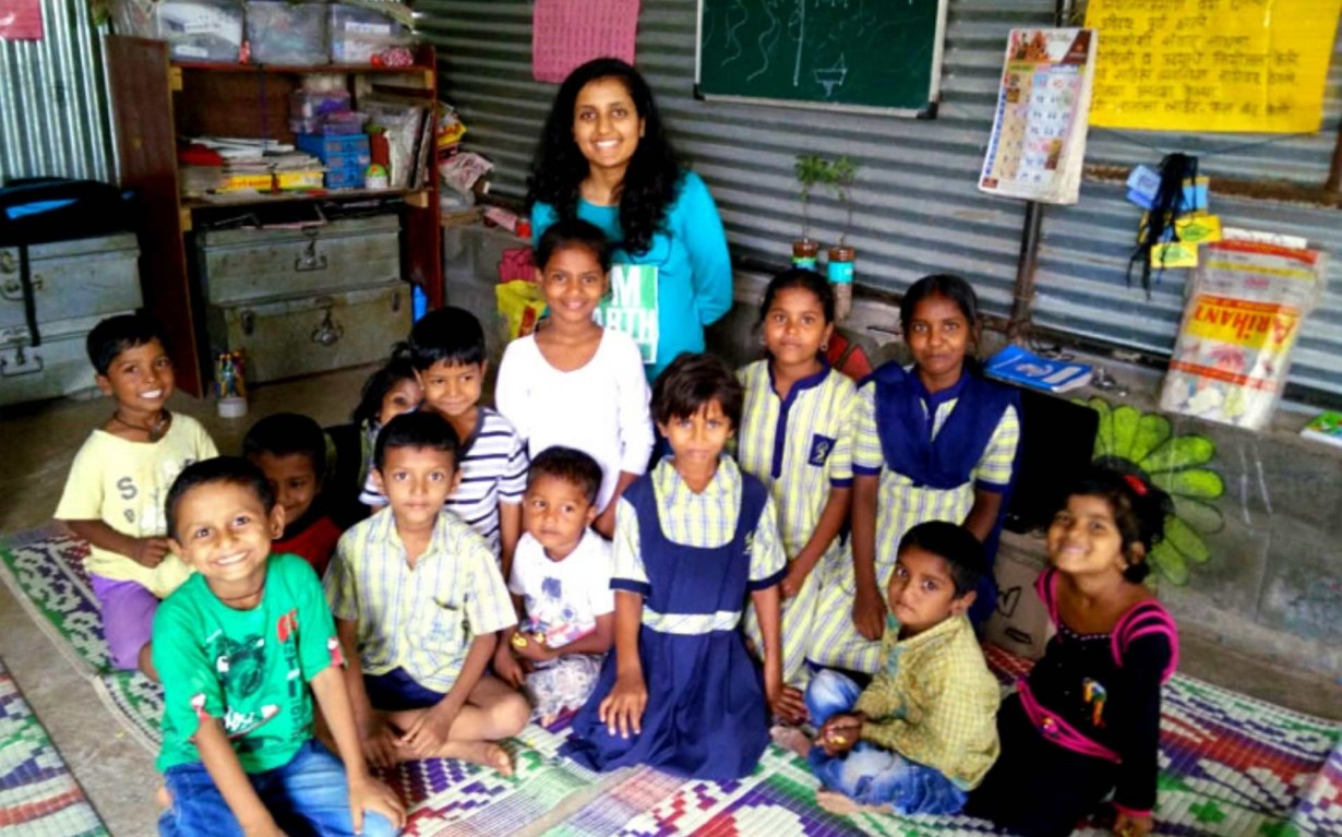 Community Development Outreach Pune Volunteer Mumbai India Environmental NGO Earth5R