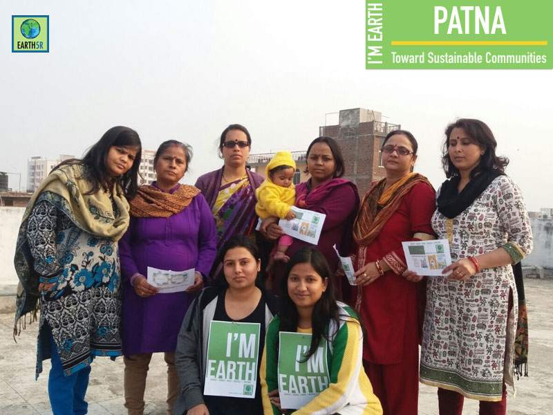Community Development Patna Mumbai India Environmental NGO Earth5R