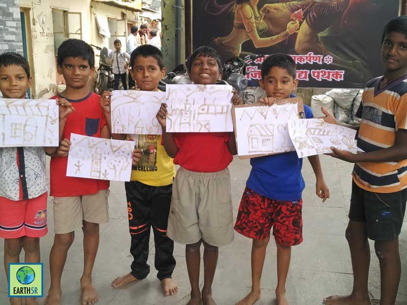 Community Development Pune Madhavi Ninganur Sonam Sengar Mumbai India Environmental NGO Earth5R CSR