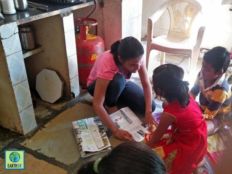 Community Development Pune Sonam Sengar Mumbai India Environmental NGO Earth5R