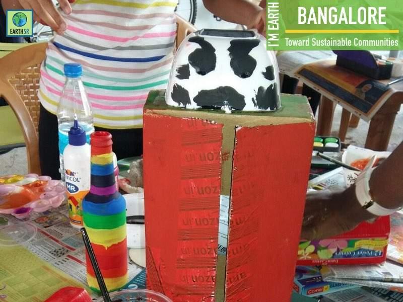 Community Development Recycling Bangalore Mumbai India Environmental NGO Earth5R