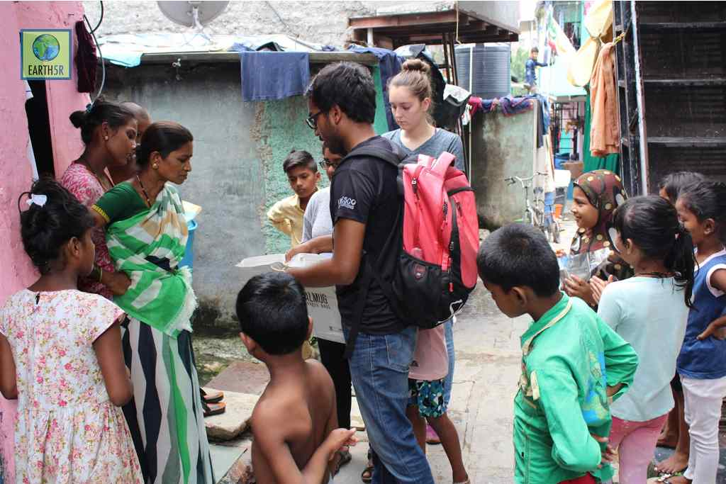 Community Development Volunteer Mumbai India Environmental NGO CSR Earth5R