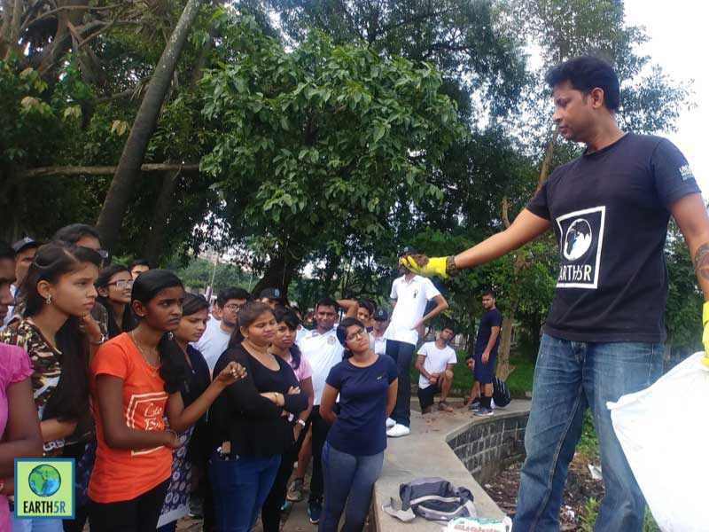 Community Organic waste management Mumbai India Environmental NGO Earth5R