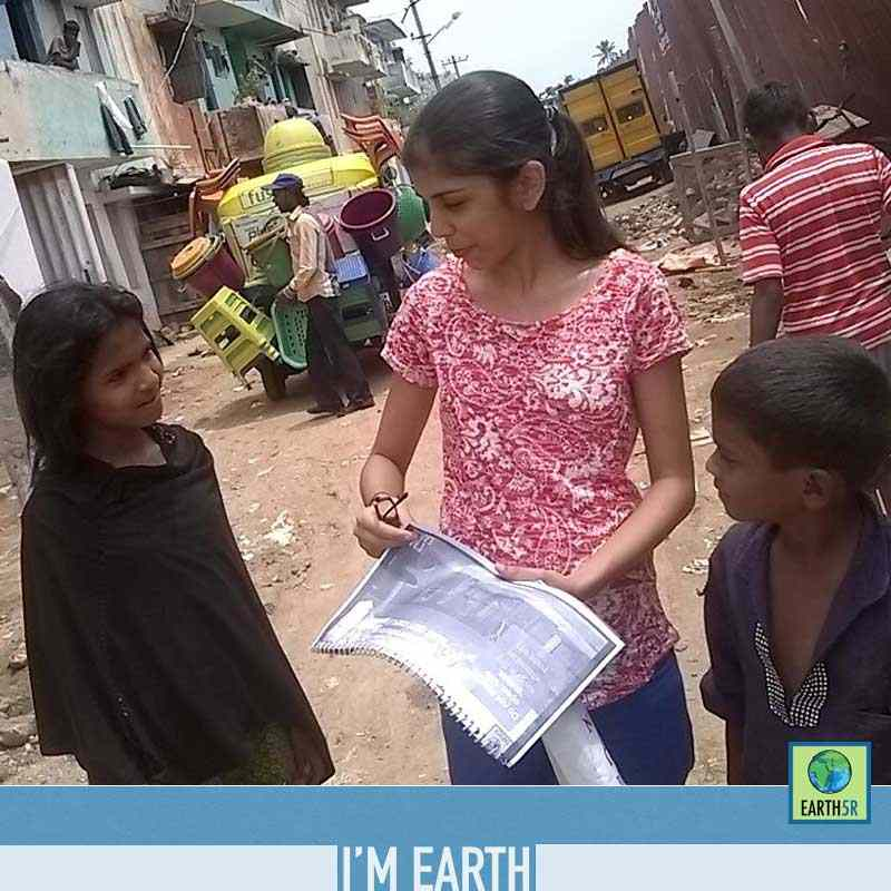 Community Service Bangalore Slums Mumbai India Environmental NGO Earth5R