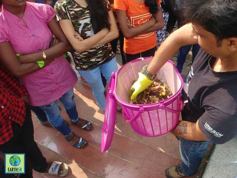 Composting Training Mumbai India Environmental NGO Earth5R