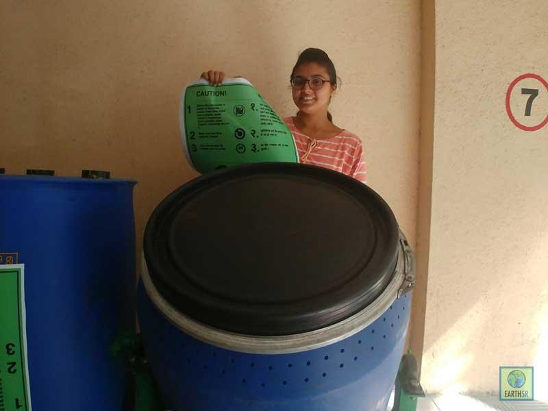 Composting Units Mumbai India Environmental NGO Earth5R