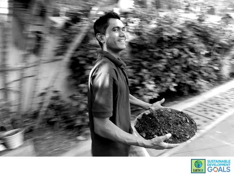 Composting Units Organic Waste Mumbai India Environmental NGO Earth5R