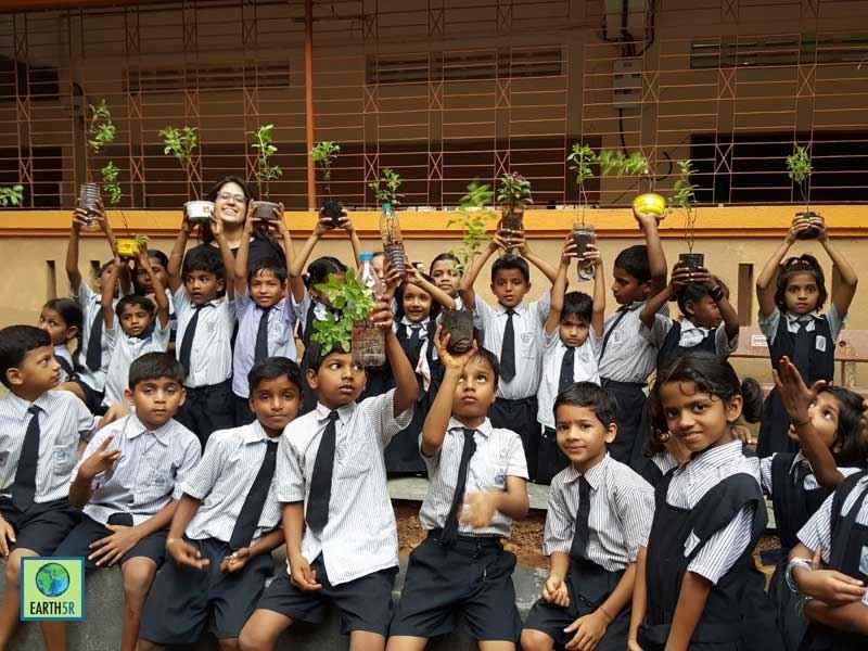 Composting Waste Management Solar Mumbai India Environmental NGO Earth5R