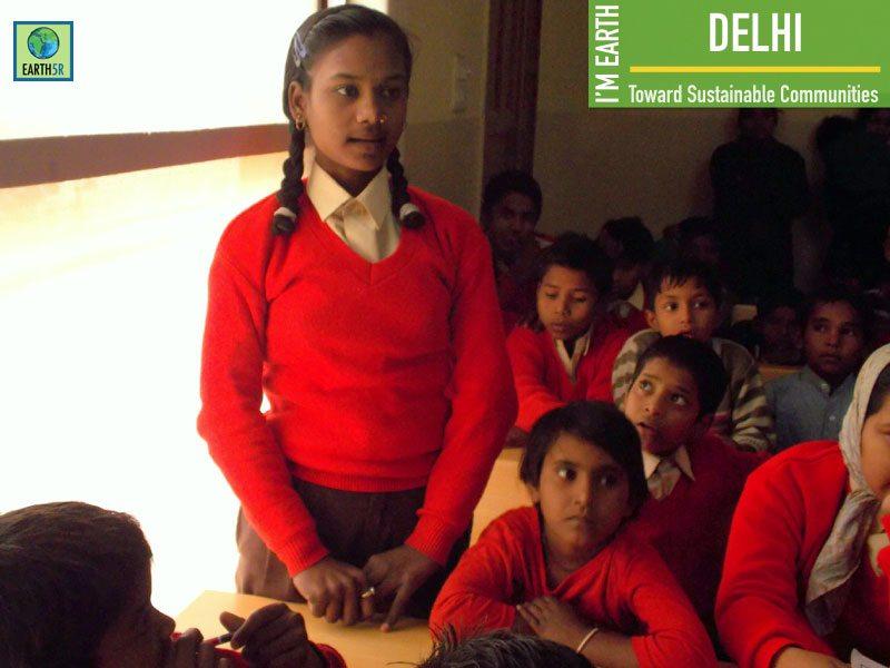 Delhi Community Awareness Children Mumbai India Environmental NGO Earth5R