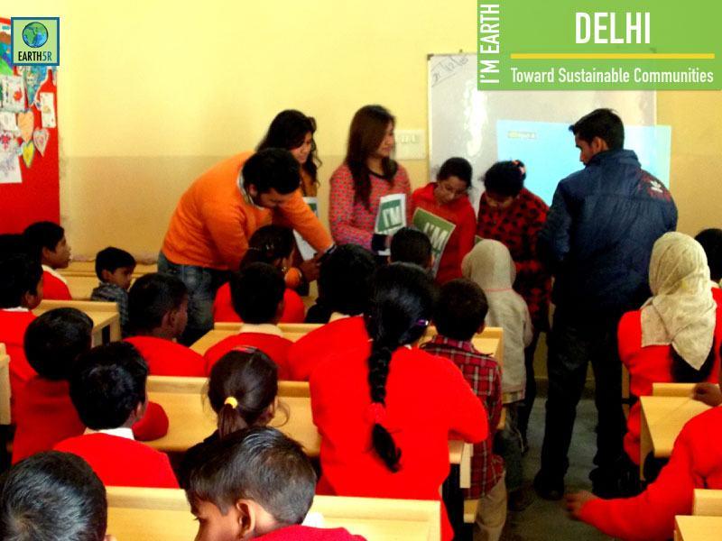 Delhi Community Development Recycling Volunteers Mumbai India Environmental NGO Earth5R