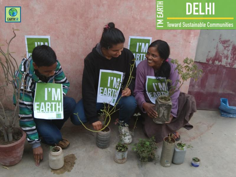 Delhi Plantation Women Empowerement Mumbai India Environmental NGO Earth5R
