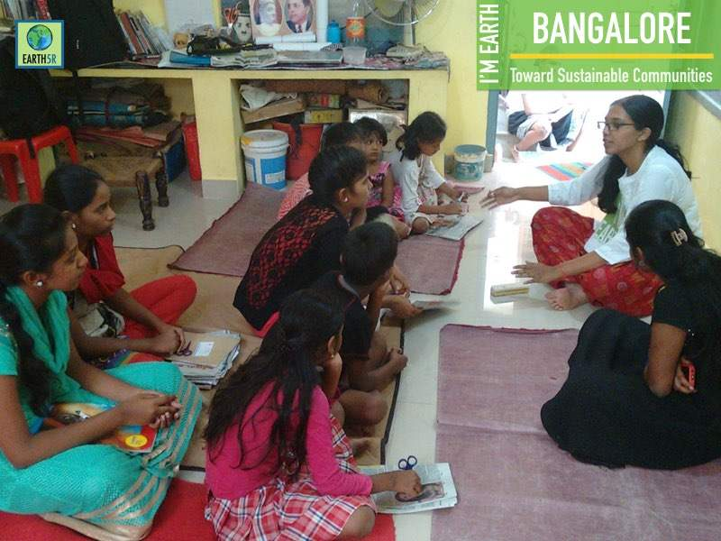 Downcycling Community Awareness Bangalore Earth5R Mumbai India Environmental NGO