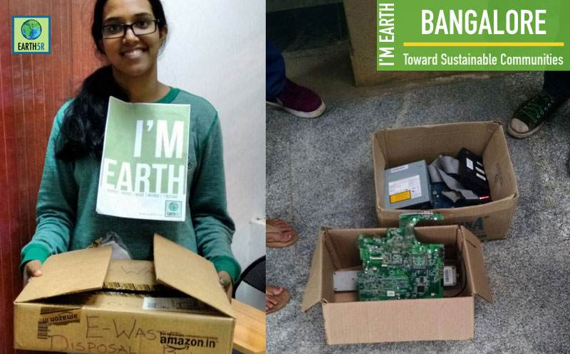 E-Waste Recycling Bangalore Earth5R Mumbai India Environmental NGO