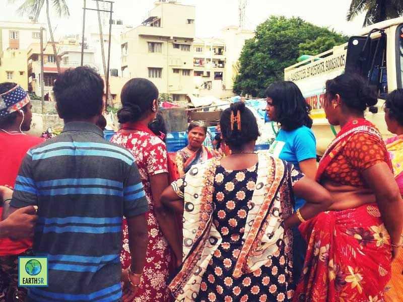 Environmental Awareness Bangalore Slum Mumbai India Environmental NGO Earth5R